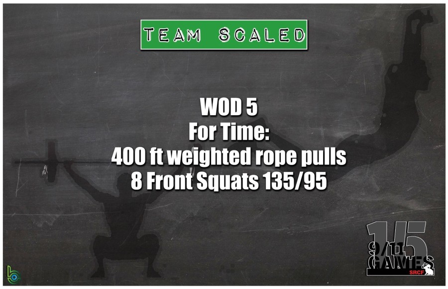 Scaled Team Wod 5