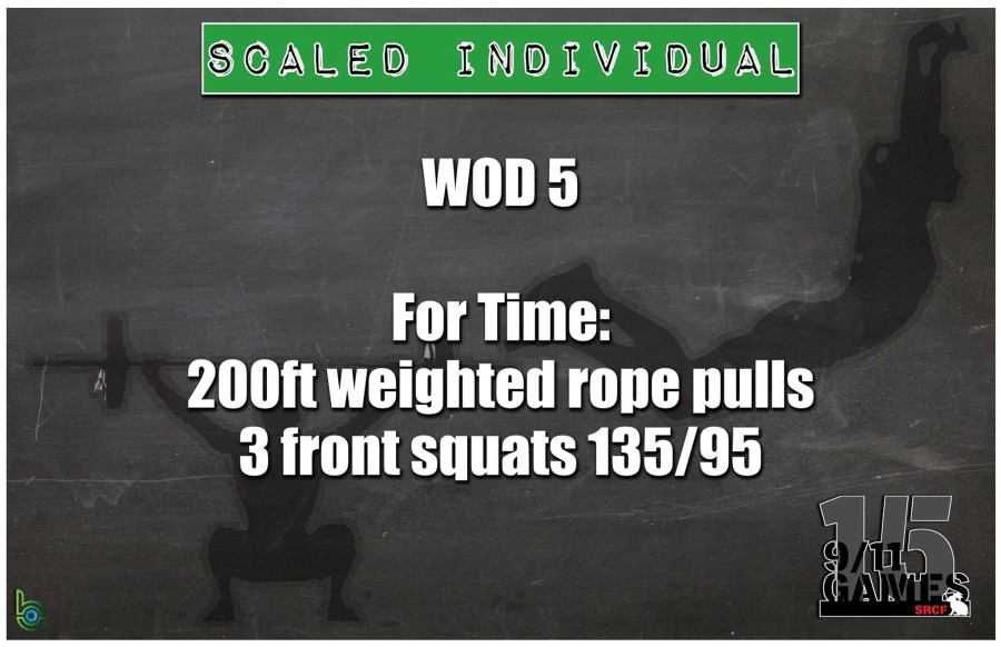 Scaled Individual Wod 5